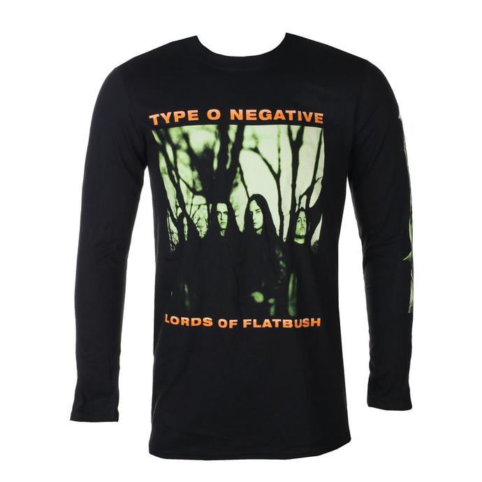 tričko pánské s dlouhým rukávem TYPE O NEGATIVE - OCTOBER RUST - PLASTIC HEAD