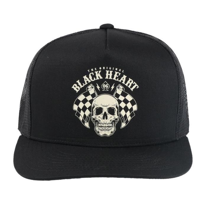 kšiltovka BLACK HEART - STARTER - BLACK