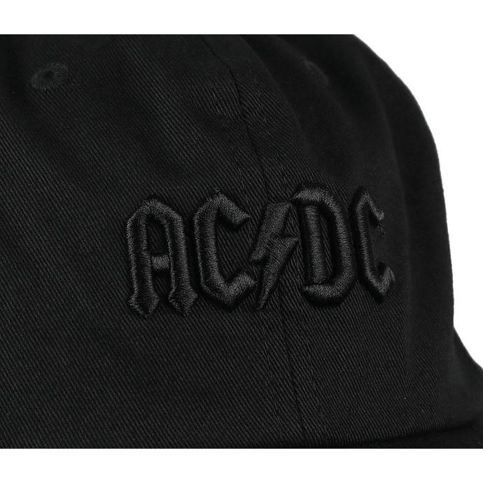 kšiltovka DC - AC/DC - Back In Black - BLACK