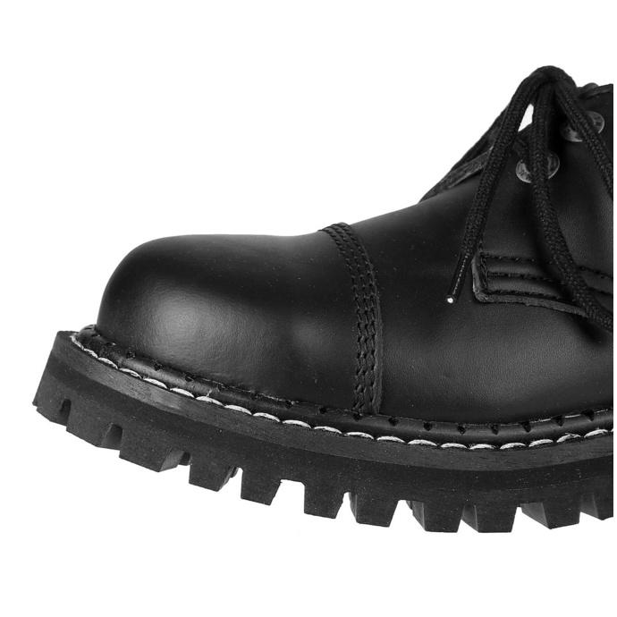 boty KMM 2x dírkové - Black