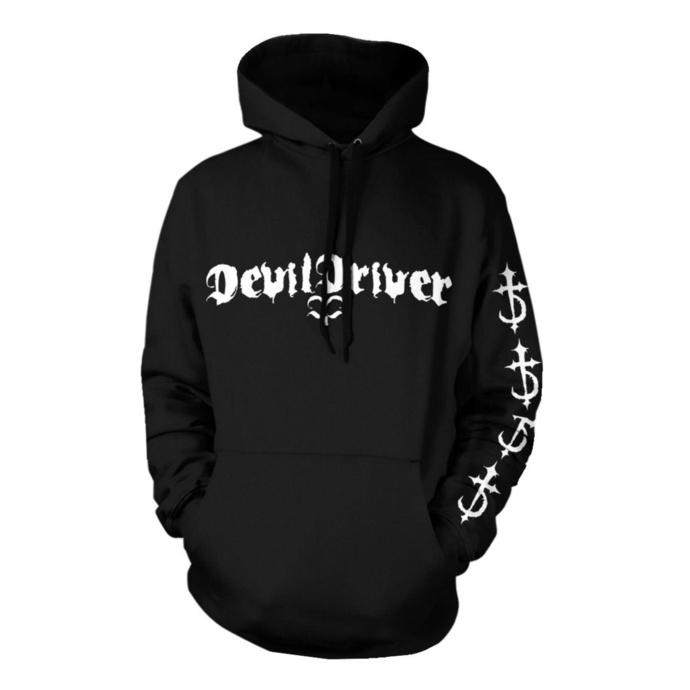 mikina pánská Devildriver - Logo Careless Black