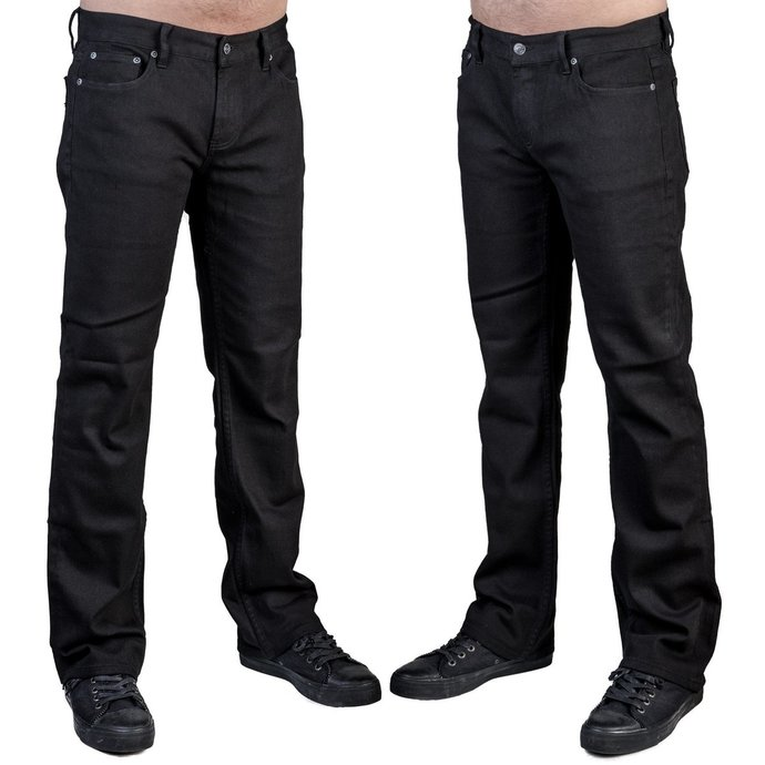 kalhoty pánské (jeans) WORNSTAR - Essentials - Trailblazer Black Denim
