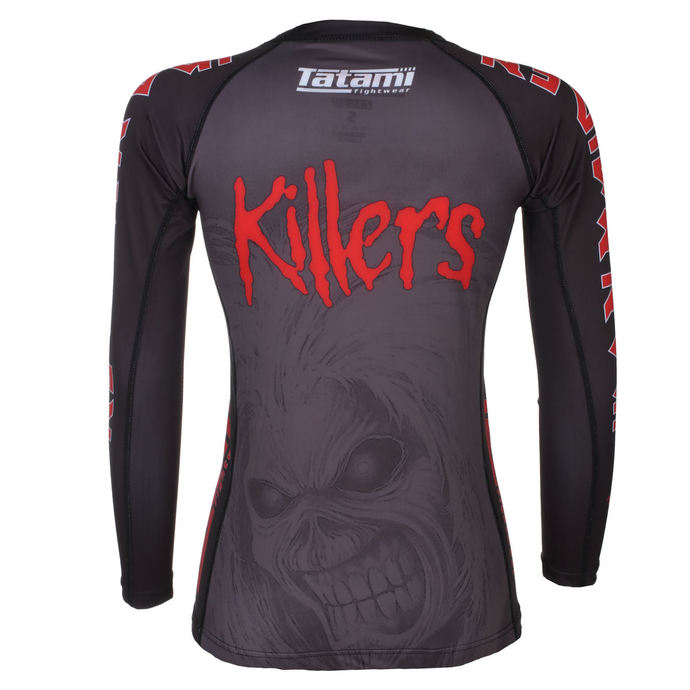 tričko dámské s dlouhým rukávem (technické) TATAMI - Iron Maiden - Killers - Rash Guard