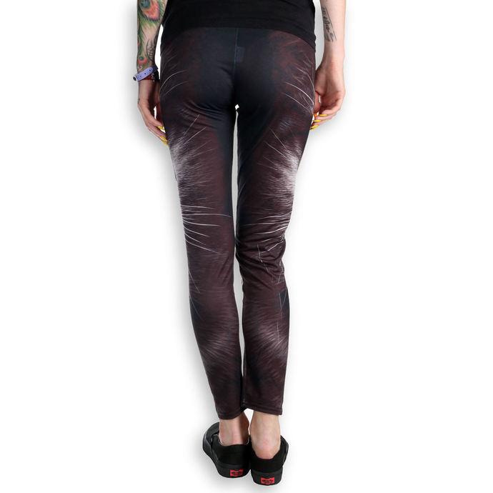 kalhoty dámské (leginy) SPIRAL - CAT'S TEARS - Black