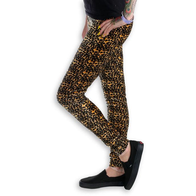 kalhoty dámské (legíny) BURLESKA - Leopard