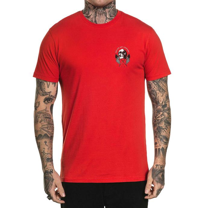 tričko pánské SULLEN - OLD GLORY - RED
