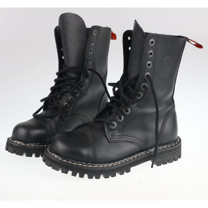 boty KMM 10dírkové - Black - 100 - POŠKOZENÉ