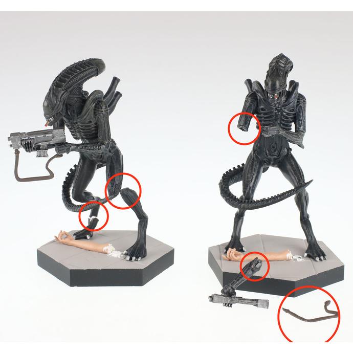 figurka (dekorace) Alien - Jeri the Synthetic - Aliens: Stronghold - EAMOJUL182530 - POŠKOZENÁ