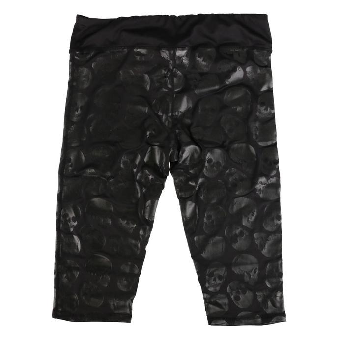 kalhoty dámské (legíny) IRON FIST - Skullz Club - IAW004583 - POŠKOZENÉ
