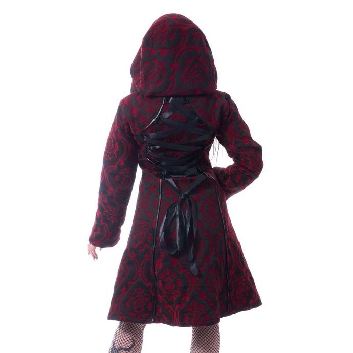 kabát dámský Poizen Industries - MANSION - RED