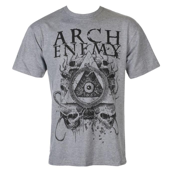 tričko pánské Arch Enemy - Pyramid - grey - ART WORX