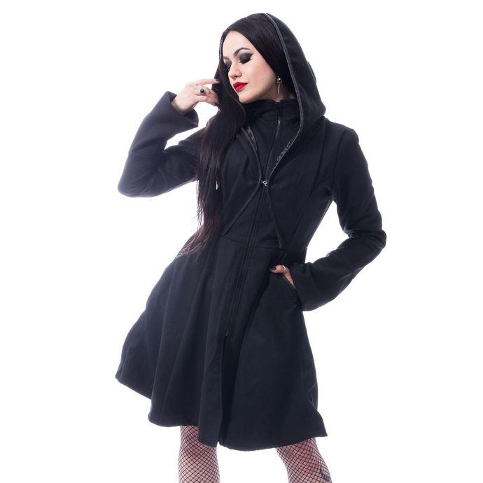 kabát dámský Poizen Industries - MELINA - BLACK