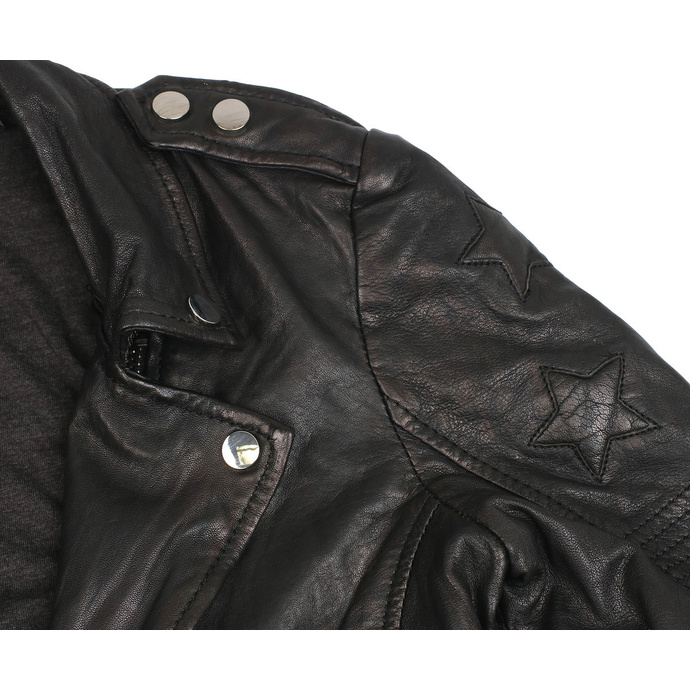 bunda dámská (křivák) G2GWona W20 SF LAMEV - GLOSSY - BLACK