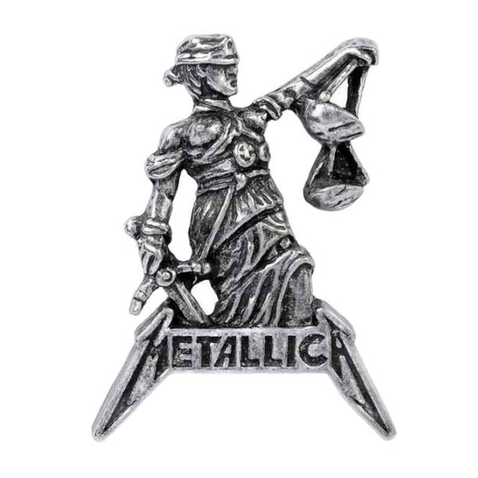 připínáček ALCHEMY GOTHIC - Metallica - Justice For All