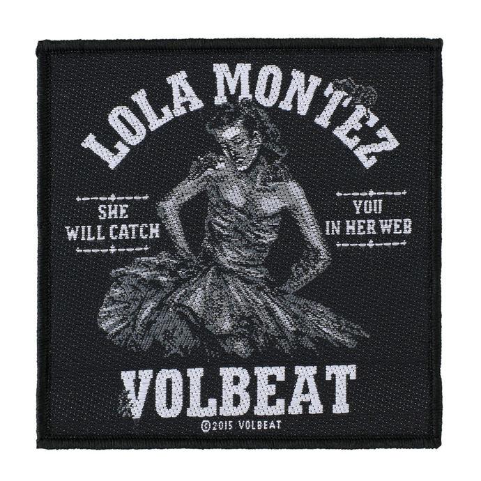 nášivka VOLBEAT - LOLA MONTEZ - RAZAMATAZ