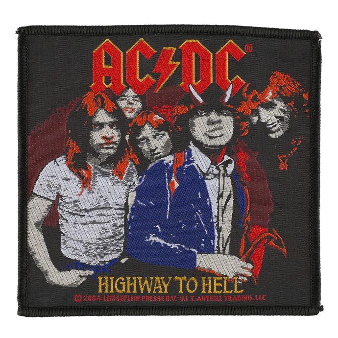 nášivka AC/DC - HIGHWAY TO HELL - RAZAMATAZ