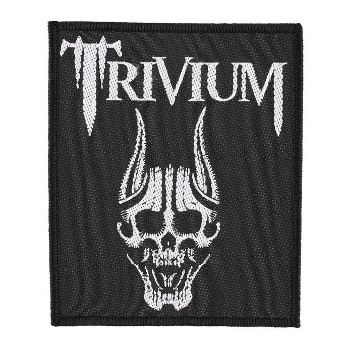nášivka TRIVIUM - SCREAMING SKULL - RAZAMATAZ
