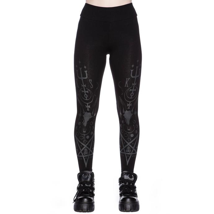 kalhoty dámské (legíny) KILLSTAR - Necro Nancy