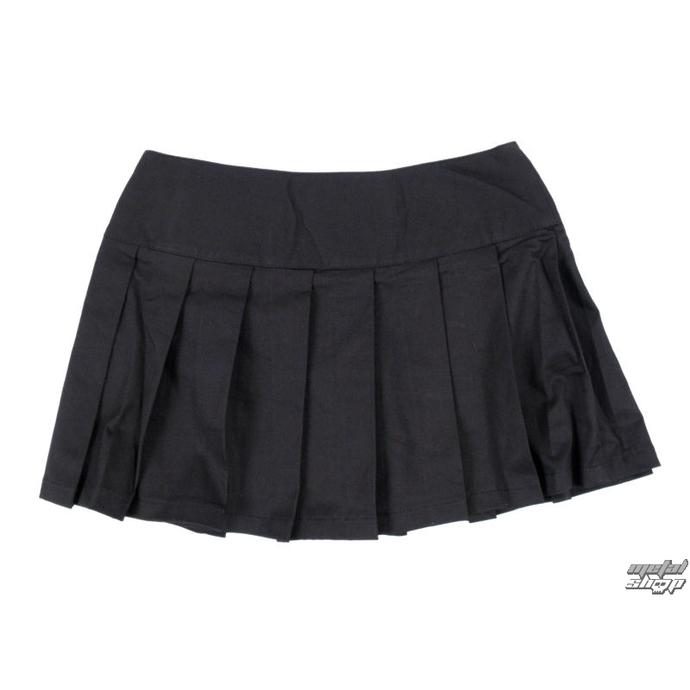 sukně dámská Black Pistol - Buckle Mini Denim - Black