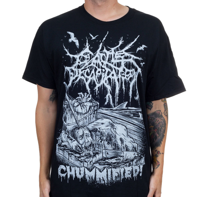 tričko pánské CATTLE DECAPITATION - Chummified - Black - INDIEMERCH