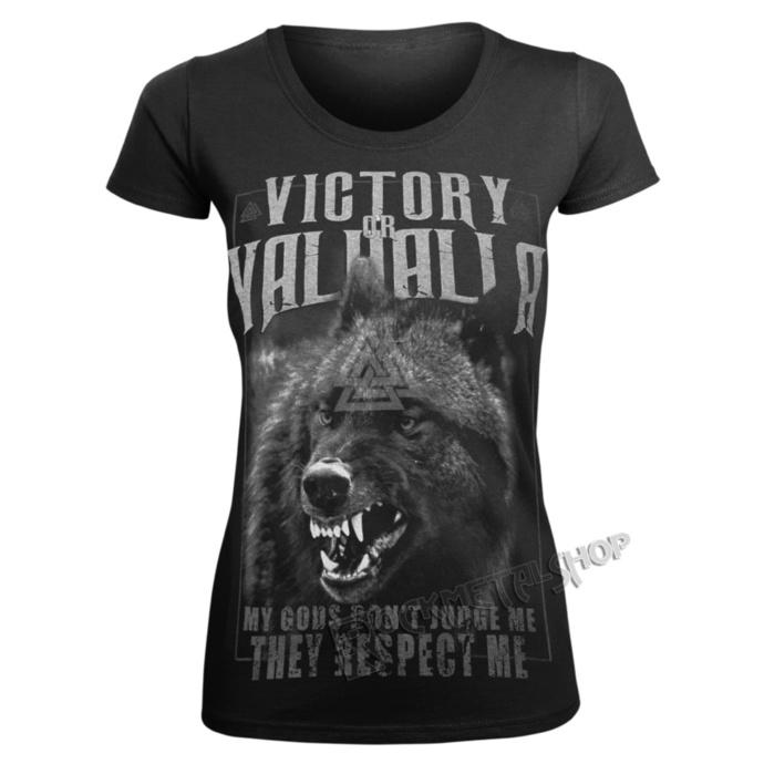 tričko dámské VICTORY OR VALHALLA - MY GODS...