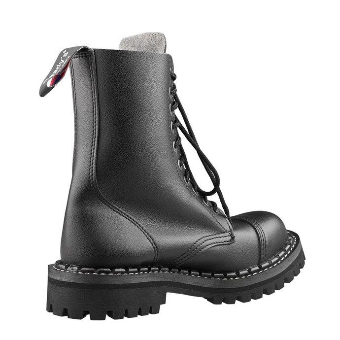 boty STEADY´S - 10 dírkové - Vegan black