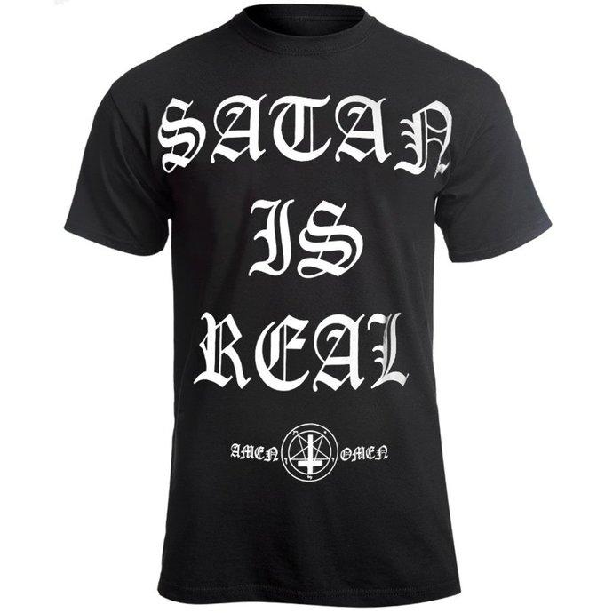 tričko pánské AMENOMEN - SATAN IS REAL