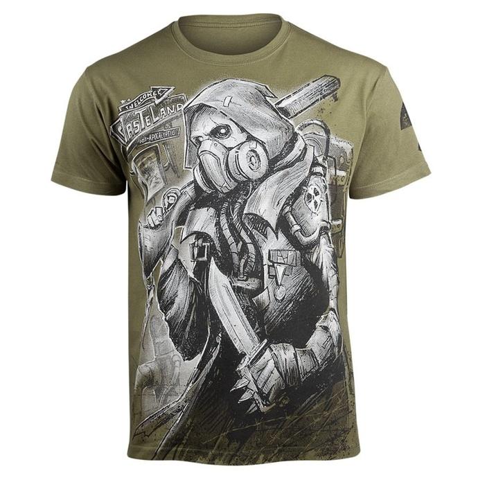 tričko pánské ALISTAR - Stalker - Khaki