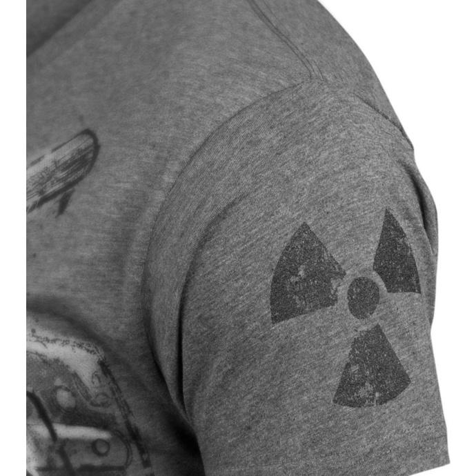 tričko pánské ALISTAR - Stalker - Grey