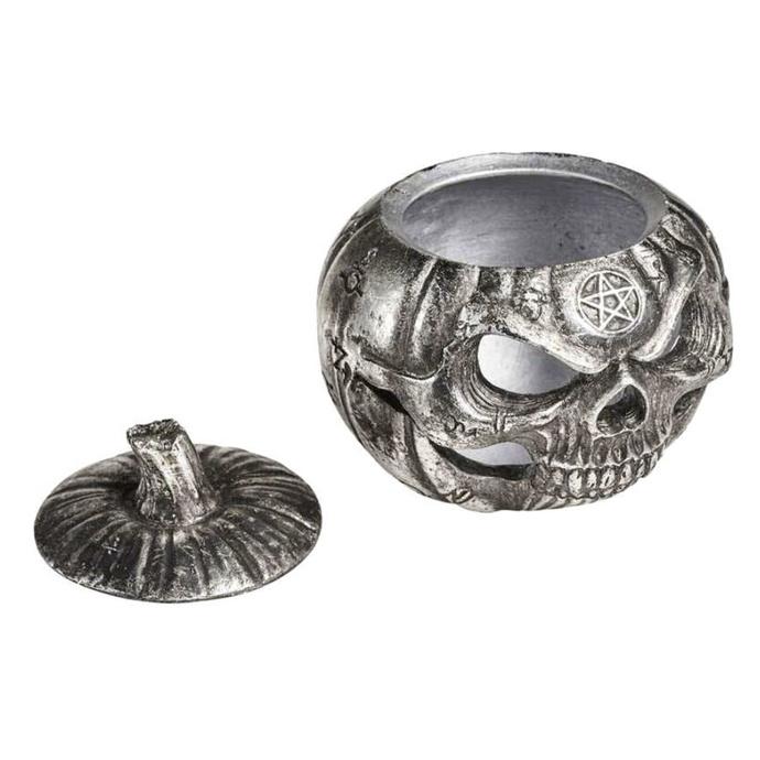 dekorace (krabička) ALCHEMY GOTHIC - Pumpkin Skull