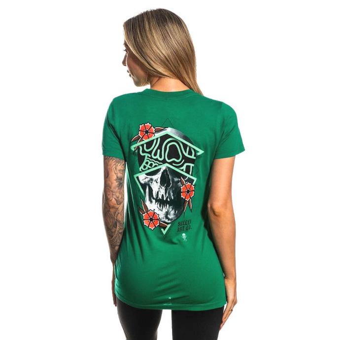 tričko dámské SULLEN - RIGONI SKULL - BOSPHORUS