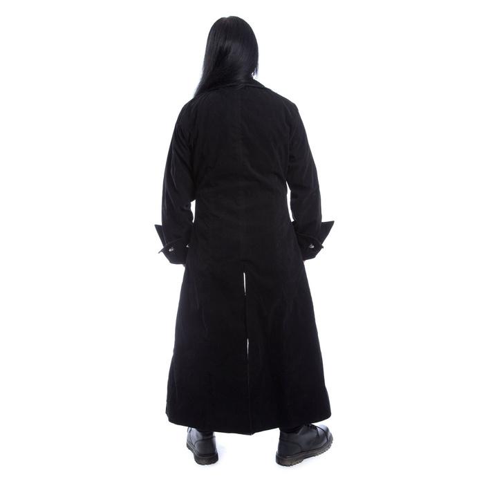 kabát pánský POIZEN INDUSTRIES - QUENTIN - BLACK VELVET