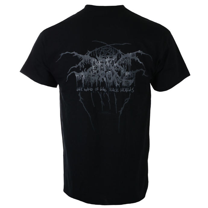 tričko pánské DARKTHRONE - THE WIND OF 666 BLACK HEARTS - RAZAMATAZ