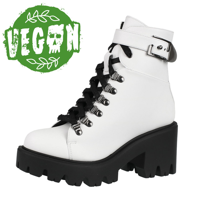 boty dámské ALTERCORE - Enid - Vegan White
