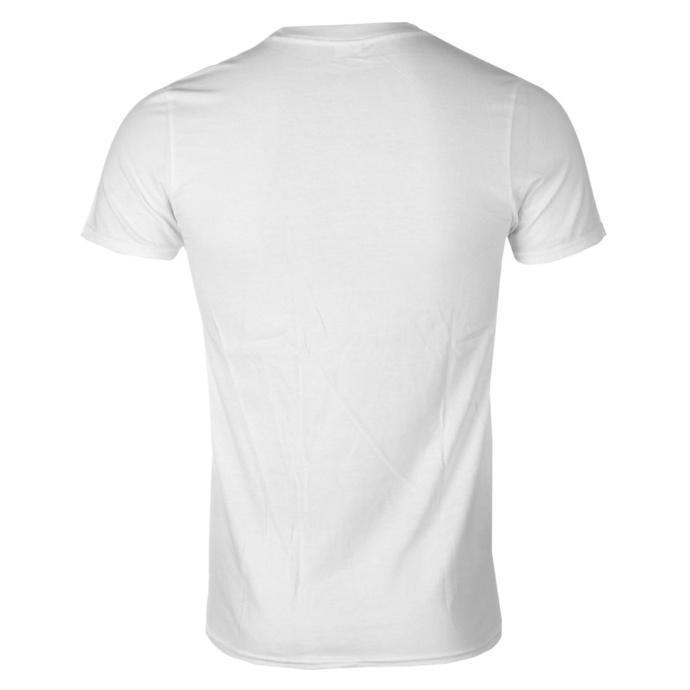 tričko pánské Pennywise - Fuck Authority - White - KINGS ROAD