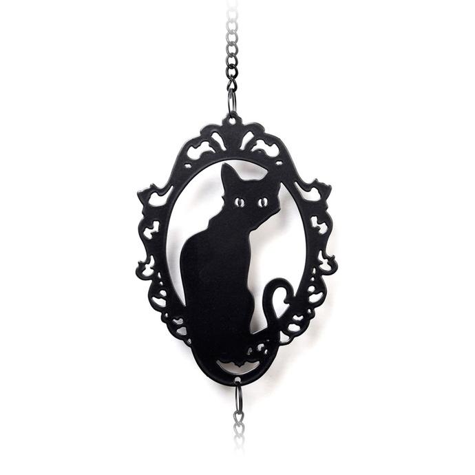 zvonkohra (dekorace) ALCHEMY GOTHIC - Cat Silhouette