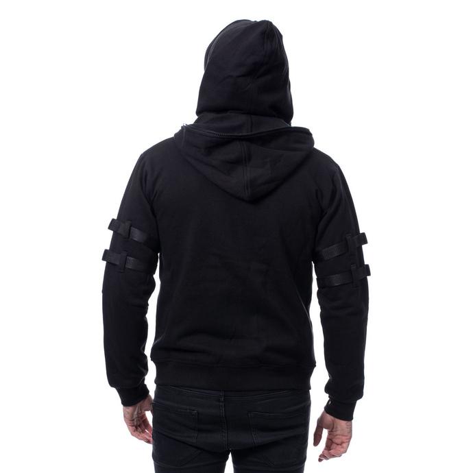 mikina pánská Chemical Black - RYKER - BLACK