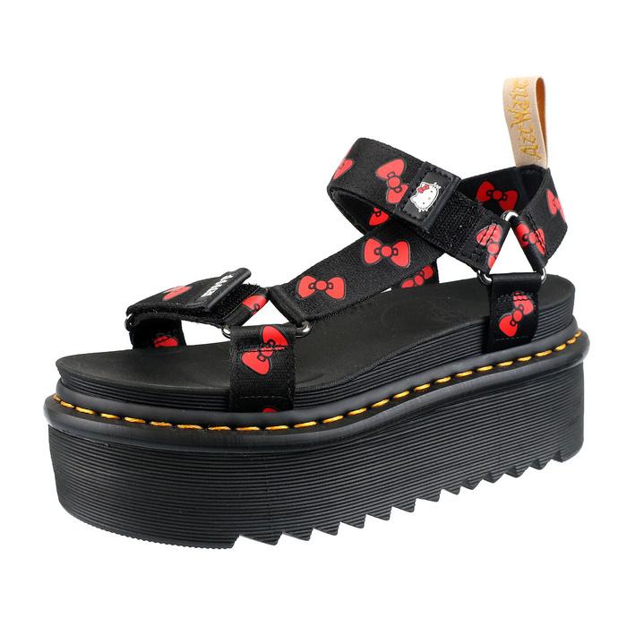 boty dámské (sandály) DR. MARTENS - Hello Kitty - Sandal HK