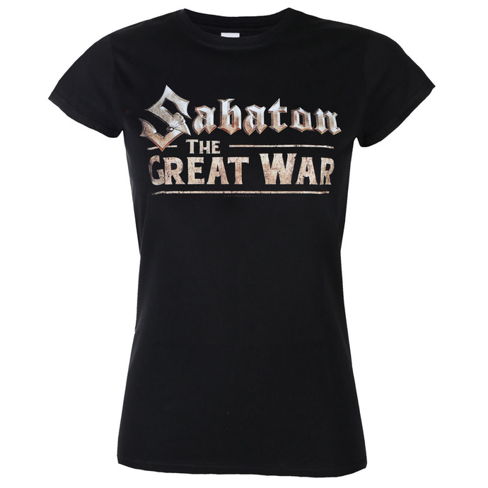 tričko dámské SABATON - The great war - NUCLEAR BLAST