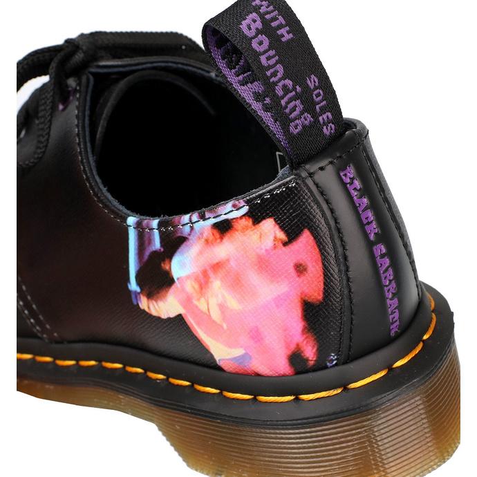 boty DR. MARTENS - 3 dírkové - 1461 BLACK SABBATH - LP PARANOID