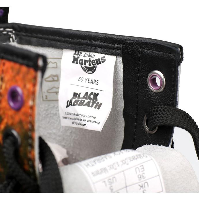 boty DR. MARTENS - 8 dírkové - 1460 BLACK SABBATH - LP BLACK SABBATH