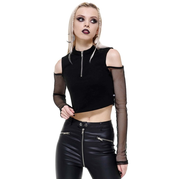 tričko dámské s dlouhým rukávem (top) KILLSTAR - Salome