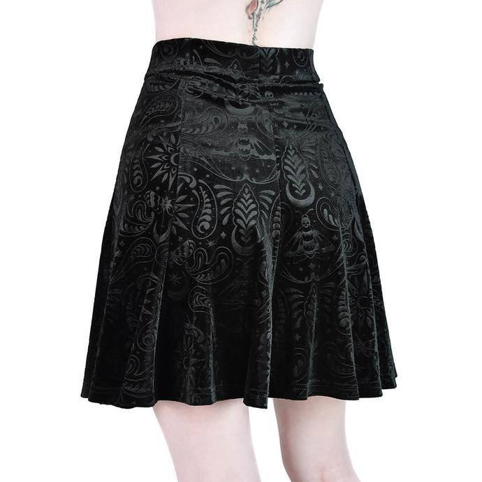 sukně dámská KILLSTAR - Sanna Velvet Skater