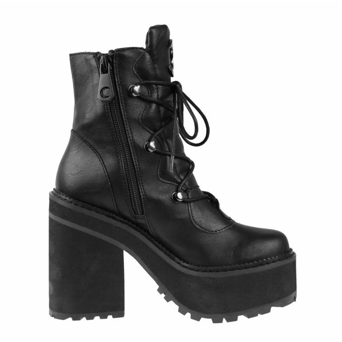 boty dámské KILLSTAR - Broom Rider - BLACK