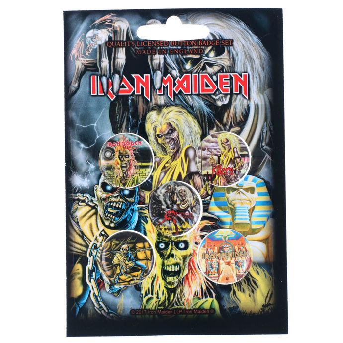 placky Iron Maiden - RAZAMATAZ