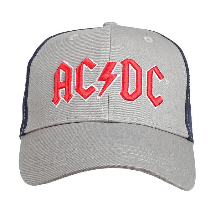 kšiltovka AC/DC - Red Logo - CHAR/BL - ROCK OFF