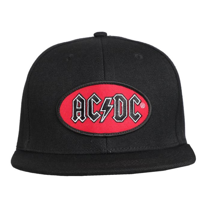 kšiltovka AC/DC - Oval Logo BL - ROCK OFF