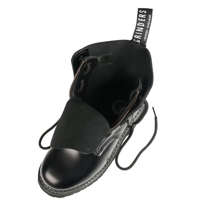 boty GRINDERS - 8dírkové se zipem