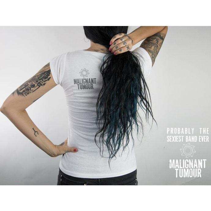 tričko dámské MALIGNANT TUMOUR - Melrose - WHITE