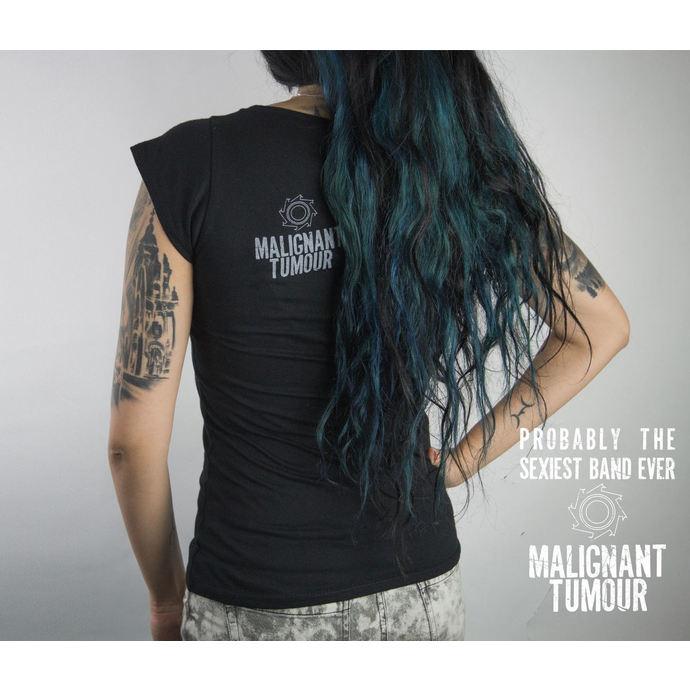 tričko dámské MALIGNANT TUMOUR - Melrose - BLACK